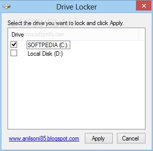 شرح + تحميل برنامج قفل الاقراص للكمبيوتر مجانا Drive Locker 1.0