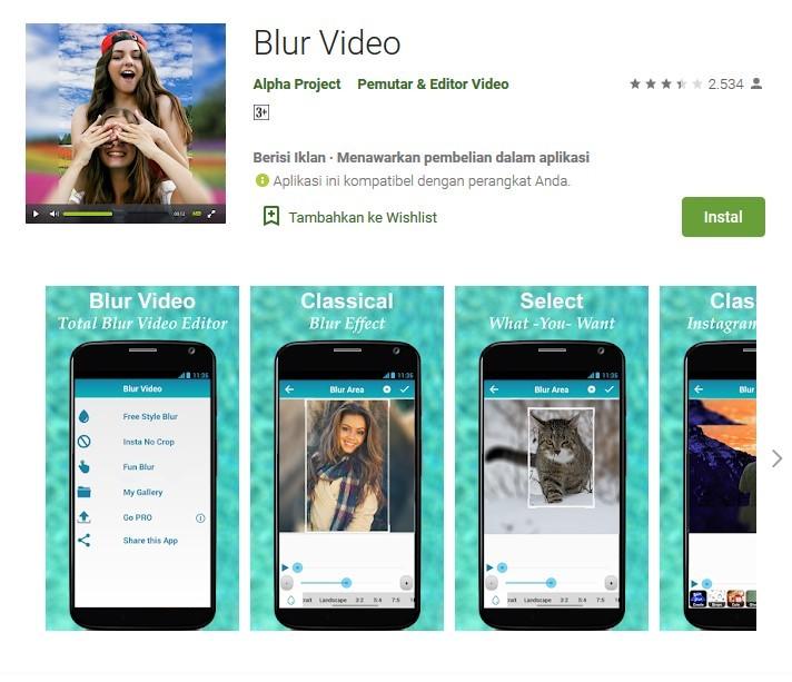 Downlod Aplikasi Video Bokeh APK Full Offline dan Online di Android Gratis