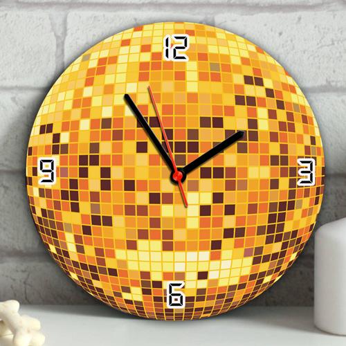 disko topu duvar saatleri