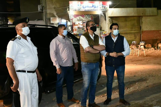 محافظ الفيوم: يغلق 35 مقهى ومحلاً تجارياً لعدم الالتزام بالإجراءات الاحترازية والمواعيد المقررة