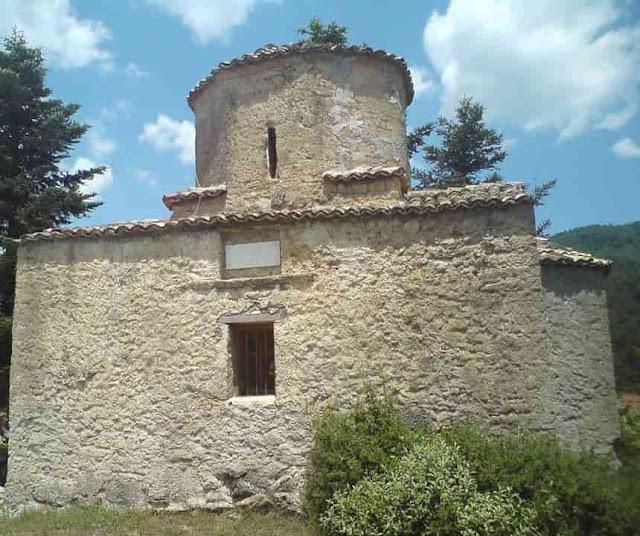 εκκλησάκι του Αγίου Φανουρίου Λίμνη Δόξα, Φενεός