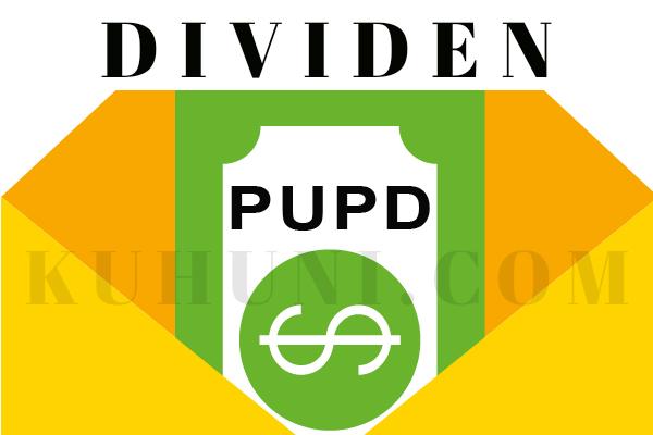 Dividen PUDP / Pudjiadi Prestige Tbk 2020