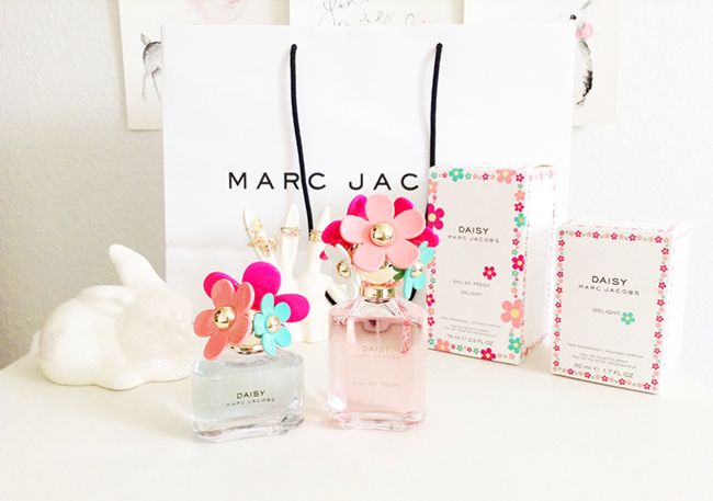 Marc Jacobs Daisy Delight limited edition Daisy and Daisy eau so fresh perfumes blog review