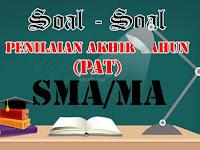 Soal dan Jawaban PAT Bahasa Sunda SMA/MA Kelas 11 Tahun 2019