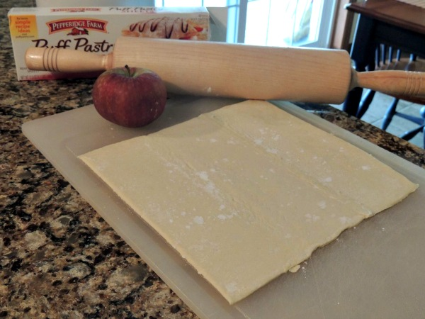 Puff Pastry for Apple Tart from Walking on Sunshine Recipes