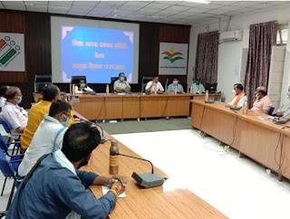 कलेक्टर श्री प्रबल सिपाहा की अध्यक्षता में जिला आपदा प्रबंधन समिति की बैठक आयोजित हुई