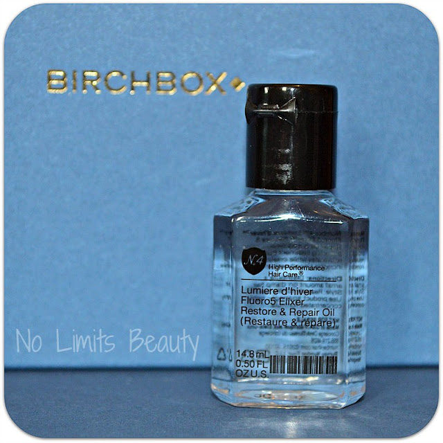 BirchBox Febrero 2016 - Lumiere d'hiver Fluoro5 Elixer Restore & Repair Oil de Number 4