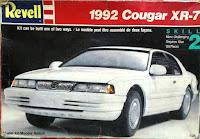 Mercury Cougar XR-7 1992 revell 1/25