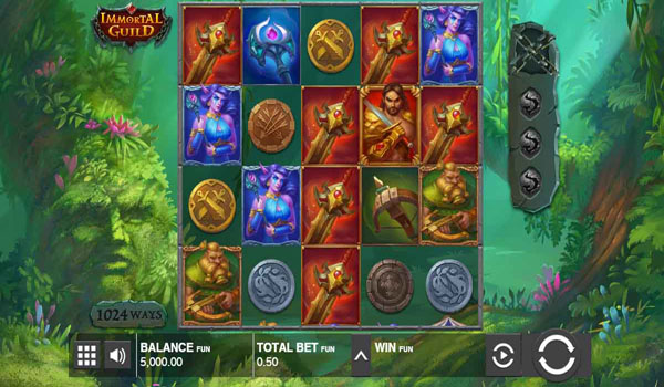 Main Gratis Slot Indonesia - Immortal Guild Push Gaming