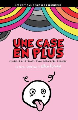 """Couverture de """"UNE CASE EN PLUS"""" de Ellen Forney chez Delcourt"""