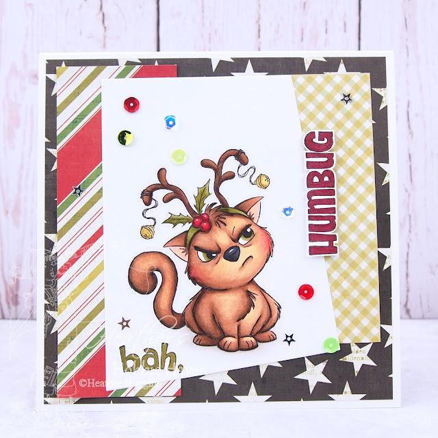 Heather's hobbie Haven - Reindeer Kitty Card Kit