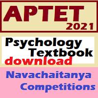 APTET 2021 syllabus psychology textbook preferred