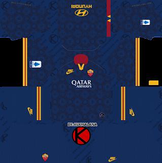 AS Roma 2019/2020 third Kit - Dream League Soccer Kits