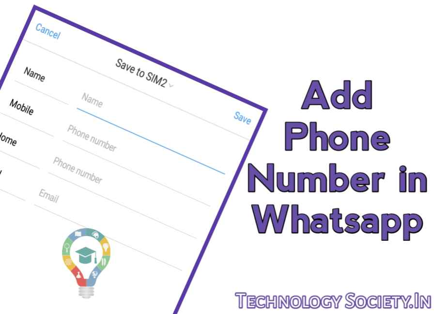 Contact Phone Number in WhatsApp