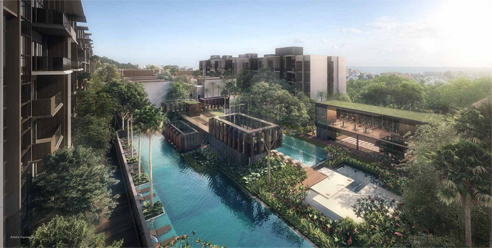 Kent Ridge Residences - PoolView