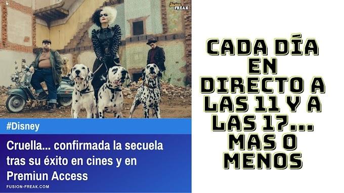 CRUELLA... Confirmada la secuela tras su éxito en cines y Premiun Access