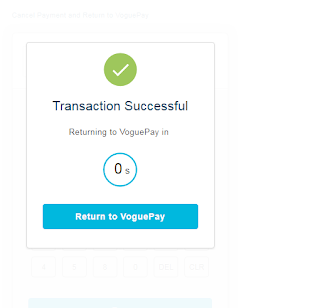 transaction successful