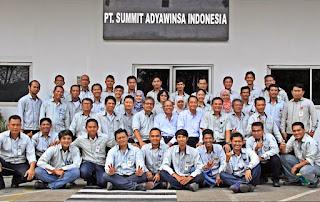 Lowongan Terbaru SMA Via Email PT Summit Adyawinsa Indonesia Karawang
