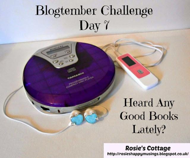 Blogtember Challenge Day 7 - Heard Any Good Books Lately?