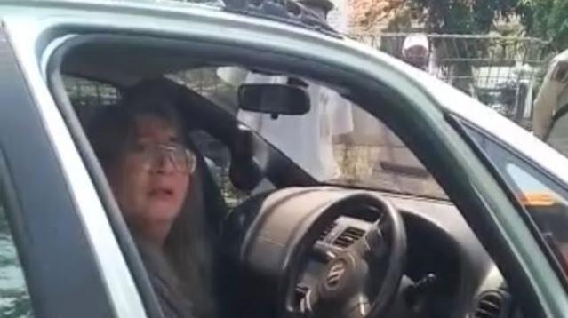 """Lihat Nih! Tampang Pria yang Tabrak Satpol PP Razia Masker di Cakung, """"Ayo Tembak Saya"""" Katanya"""