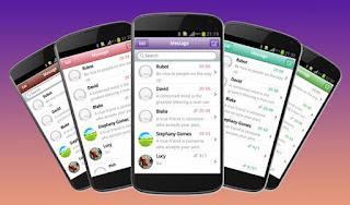 Cara Mengubah Tampilan SMS Android Mirip iPhone Keren & Bagus
