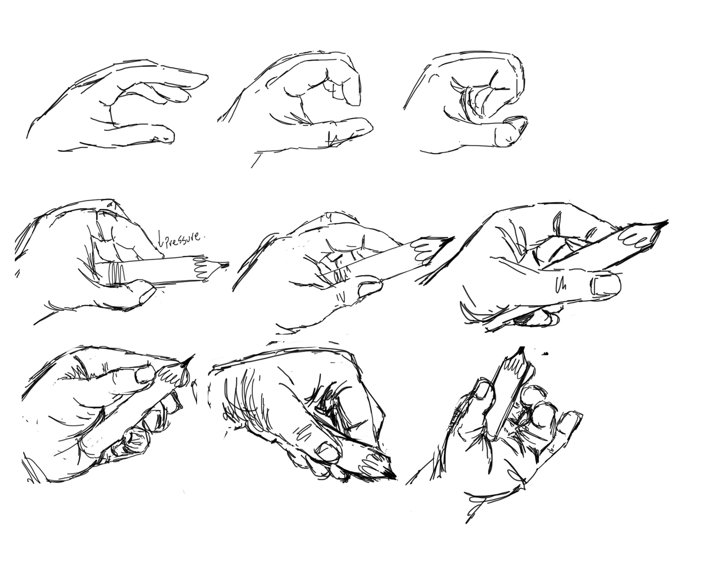 Chasing The Muse 2d Animation Thumbnails Hands