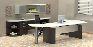 Two Tone Office Desk
