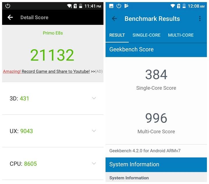 Primo E8s review AnTuTu Benchmark Score দেশে তৈরি স্মার্টফোন Walton Primo E8s এর হ্যান্ডস-অন রিভিউ