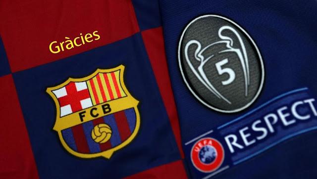 قميص برشلونة أمام نابولي