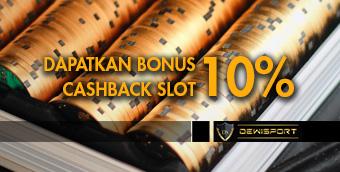 Bonus Cashback Slot