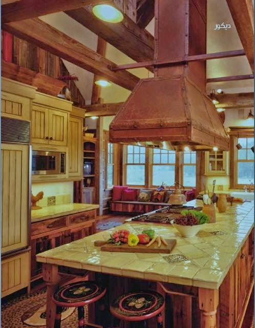 Rustic kitchen interior design style - Rustic kitchen decor