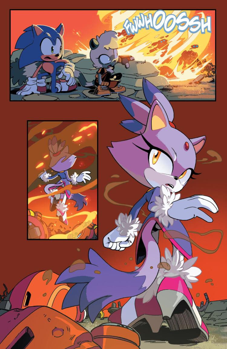 Blaze the Cat.