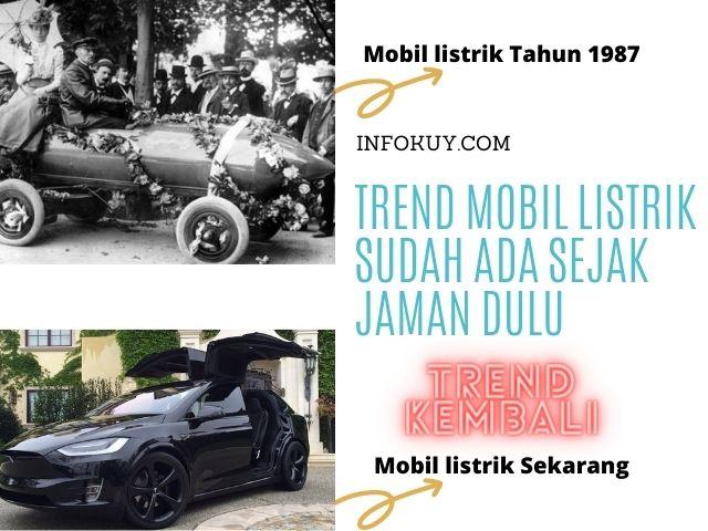 trend mobil listrik, sejarah mobil listrik