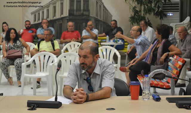 Η τοποθέτηση του κ. Ζαφειρόπουλου Θανάση στο Δημοτικό Συμβούλιο Κατερίνης για το αιολικό πάρκο. (ΒΙΝΤΕΟ)