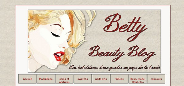 Betty du blog Betty Beauty Blog