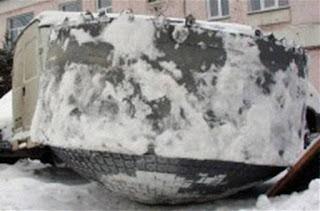 Γιγαντιαίο άγνωστο αντικείμενο «προσγειώθηκε» στη Σιβηρία