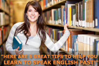 5 Tips For Learning to Speak English