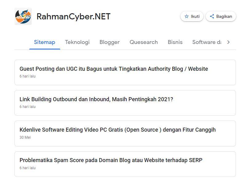 Source Feed Google News