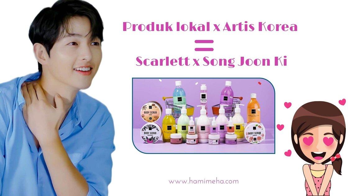 Scarlett dam Song Joong Ki