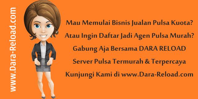 Dara-Reload.com Web Resmi Darra Reload Pulsa