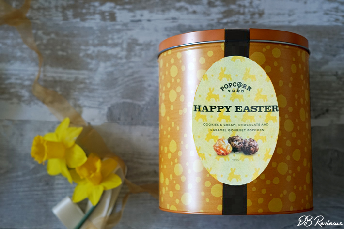 Happy Easter Popcorn Gift Tin from Popcorn Shed
