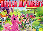 juegos de my little pony hidden alphabets