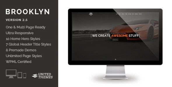 Brooklyn v2.5 Creative One Page Multi-Purpose Theme