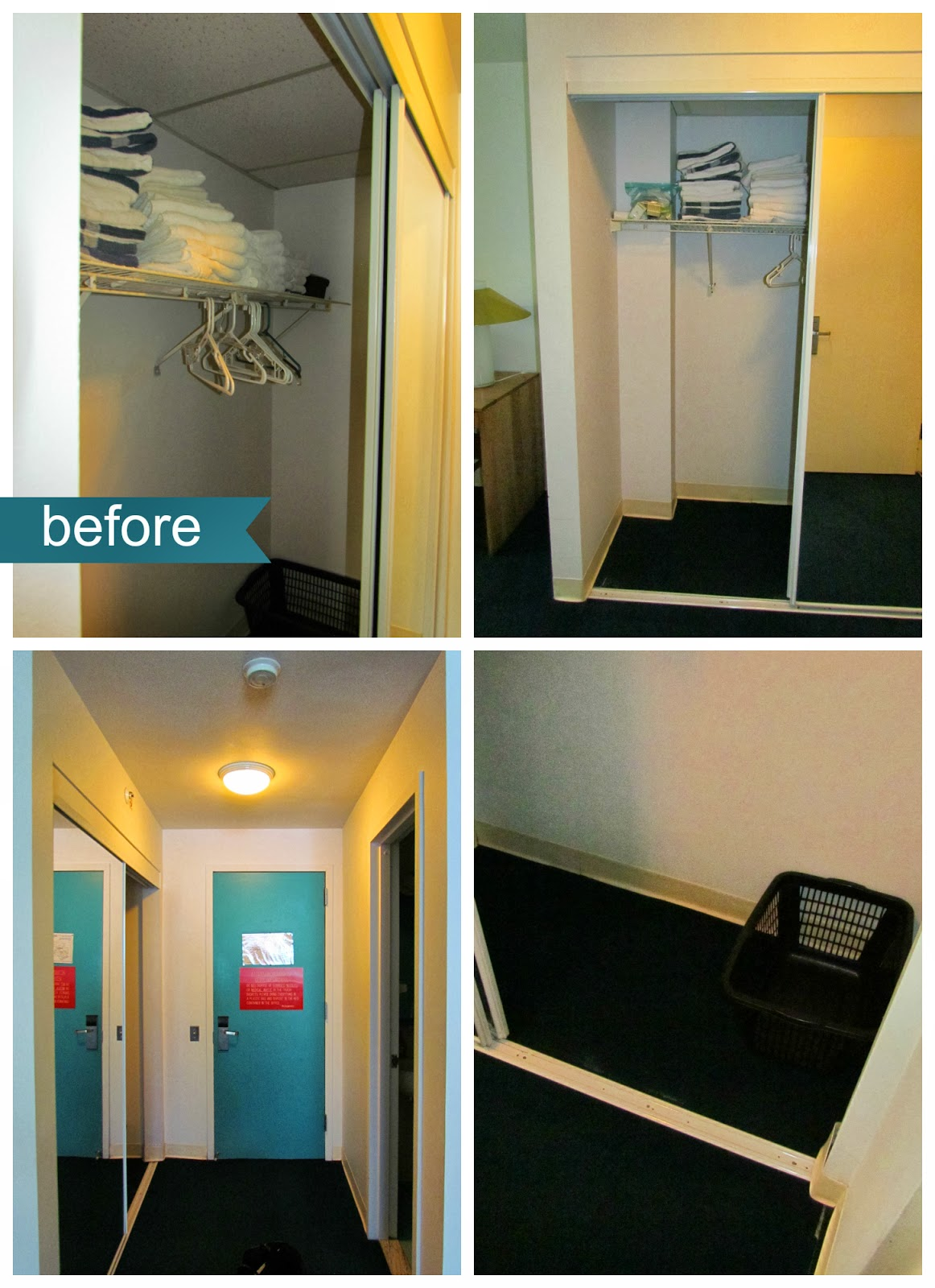 Before And After The New California Closet Ronald Mcdonald House