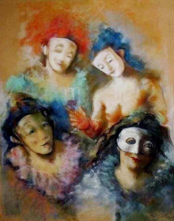 Аргентинский художник. Roberto Gatti