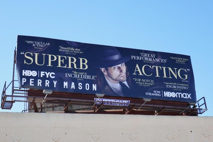 Perry Mason 2020 FYC billboard