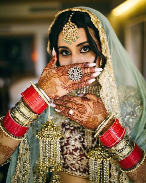 Bride Pictures - Chooda, Kaleeras & Jewellery