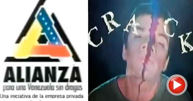 Los comerciales de la Alianza para una Venezuela sin drogas en los 90