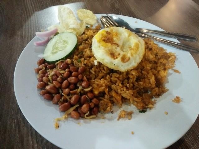 Nasi Goreng Teri;Kedai Pak Cik Abin  Malang;