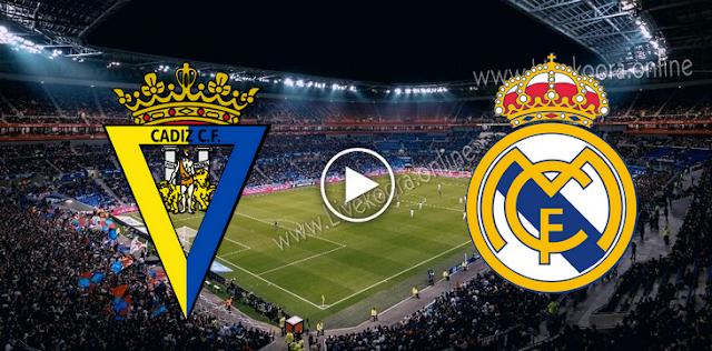 موعد مباراة ريال مدريد وقادش بث مباشر بتاريخ 17-10-2020 الدوري الاسباني